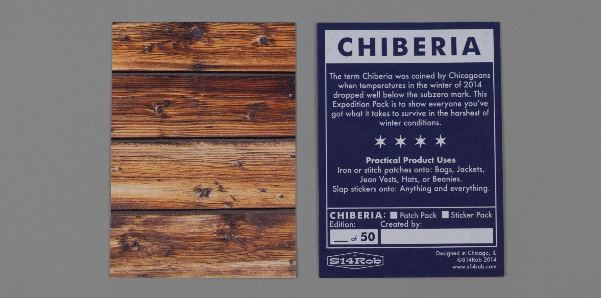 Chiberia Project Packaging