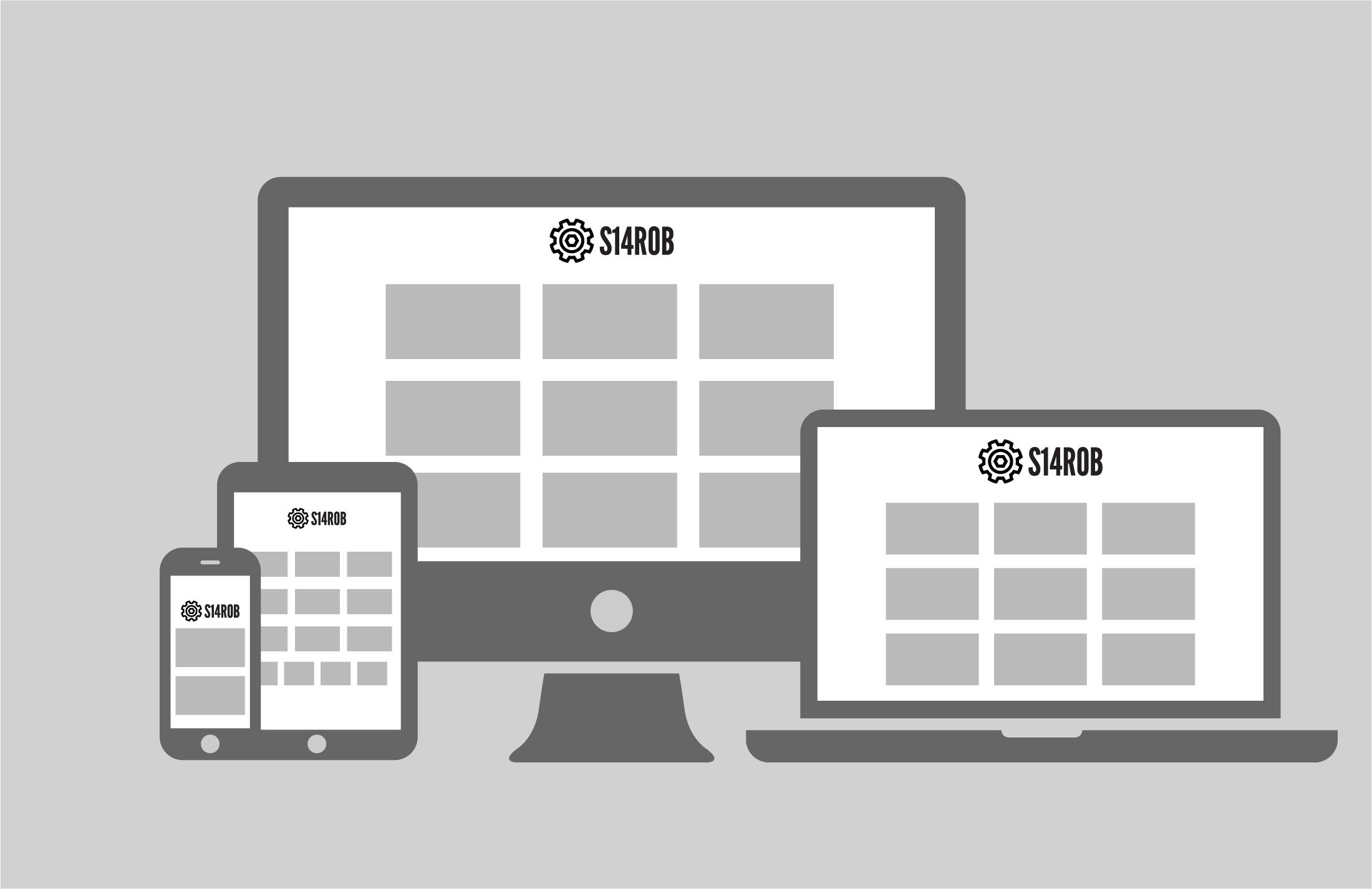 S14Rob.com is a responsive website.